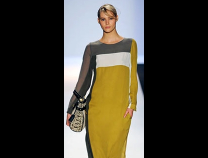 Bold color blocking by BCBG Max Azria