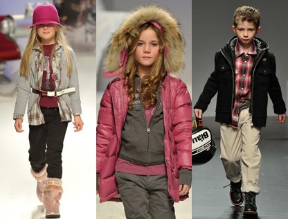 Trend 2: Raspberry and tan (Sarabanda, Woolrich, Blauer)